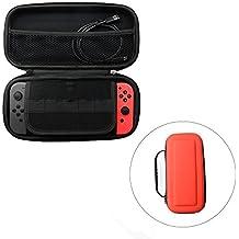 Switch Carry Case - CHINFAI Protector [Hard Shell] EVA Carry Case Cover Bolsa para Nintendo Switch (Se adapta a la consola, controladores JoyCon y otros pequeños accesorios)