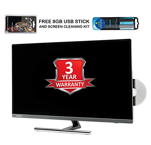 Avtex L270DRS 27? 12v/24v TV with FREE 8GB USB RECORDING STICK AND SCREEN CLEANER built in Freeview HD, Satellite Tuners, DVD,USB Record PVR, Perfect for Caravan,Motorhome,Truck or Boat(27