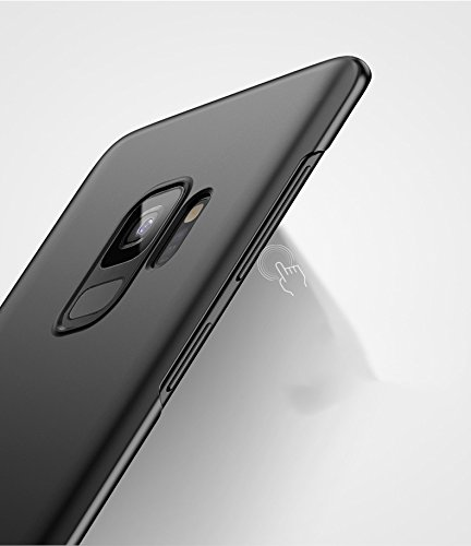 Samsung Galaxy S9 plus Etui Coque Pacyer® Tough Ultra Slim Légère Case Cover Housse Etui Bumper PC Antichoc Premium Protection avec Absorption de Choc Pour S9 plus Noir