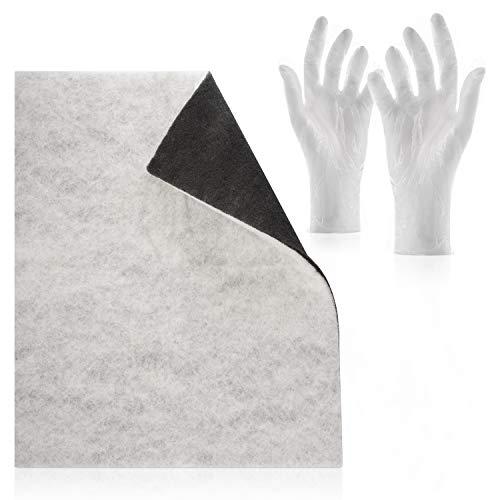 Filtro doble con filtro de carbón activado Comfort - Paquete con guantes...