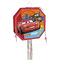 Unique Party Disney Cars Pinata, Pull String