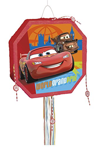 s Disney Cars Pinata, Pull String ()