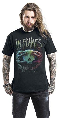 In Flames Battles Circle T-Shirt schwarz Schwarz