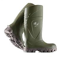 Bekina Steplite XCI Full Safety Welly Green Wellington Boot Insulated Sizes 4-13 (UK 9)