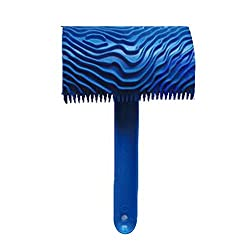 Wood Graining Pattern Rubber Painting Tool with Handle Wall Decor 6 Types - B...-53005381MG