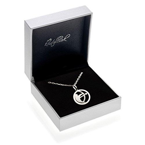 Silberkette Halskette 925 Silber mit Sternzeichen Tierkreiszeichen Schütze