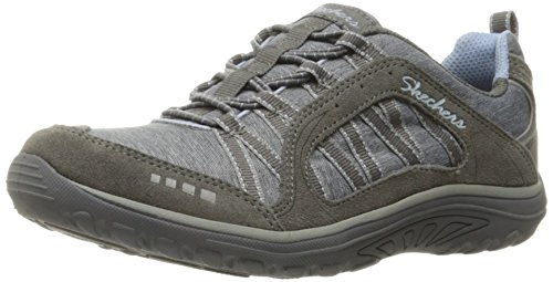 Skechers Reggae Fest - Epic Advent, Sneaker Basse Donna Grigio