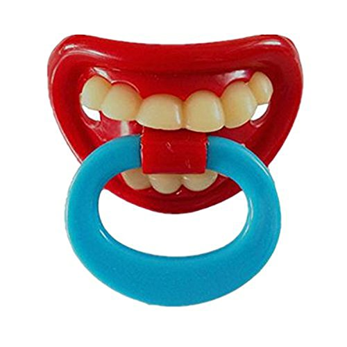 RuiChy Baby Funny Dummy Prank Pacifier Novelty Toy Teeth Children Child Soother Nipple