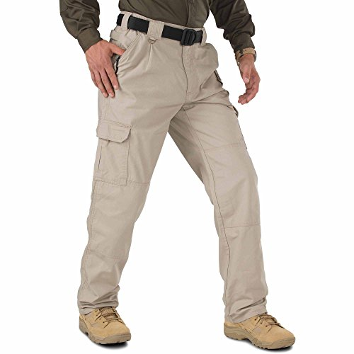 5.11 Herren Tactical Hose, Beige (khaki), 34W/L30 - Mens Tactical Hose Khaki
