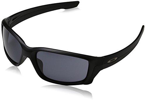 Oakley Herren Straightlink 933102 58 Sonnenbrille, Schwarz (Matte Black/Grey),