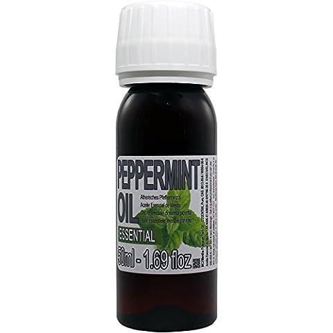 Olio essenziale di Menta al 100%. Flacone da 50 ml. made in Marocco. spediti dalla Spagna.