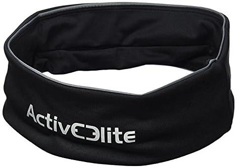 ActiveElite–Sac banane ceinture pour la course et le jogging–Idéal pour les entraînements sportifs et le fitness, Schwarz, s