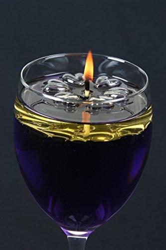 50fuego larga brocas de velas flotantes Aromaglow mágico del agua