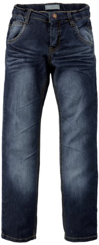 Name it - Jeans Leopol Kids Slim Dnm, bambino, Blu (Blau (Dark Blue Denim)), 6 anni