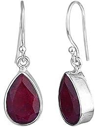 8ccc3a516657 Amazon.es  Rubies - Pendientes   Mujer  Joyería