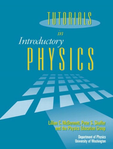 Tutorials In Introductory Physics and Homework Package (Educational Innovation- Physics) por Lillian C. McDermott