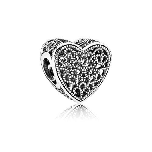 Angelbeads Charm Openwork Esplosione D'amore charm di pandora per i braccialetti argento 925
