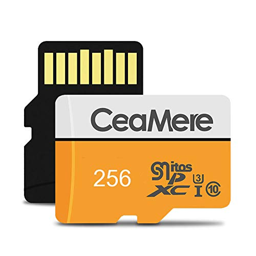 ZYJ Speicherkarte, 2er-Pack Micro-SD-Speicherkarte UHS-I U3 V30 Pro Hochgeschwindigkeits-Micro-SDXC-Karte (8 GB, 16 GB, 32 GB, 64 GB, 128 GB, 256 GB),256GB (2 64 Gb Micro Sd-karte)