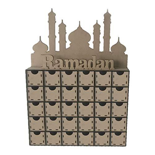 R-Weichong - Caja de regalo decorativa de madera DM, diseño de ...