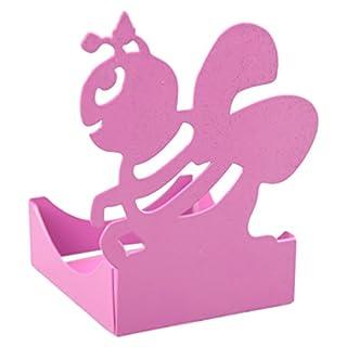 Alubox zampirella Door or Citronella Candle Bee, Pink, 7x 11x 19cm
