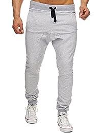 MERISH Hommes Pantalon de Jogging moderne Bicolore pantalon de sport parfait pour les loisirs et sports Modell 243