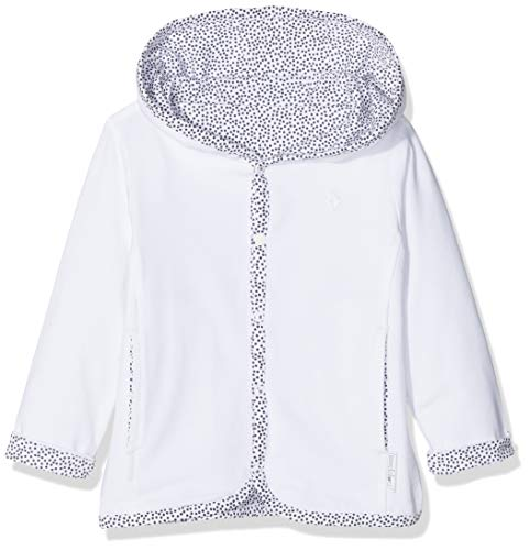 Noppies Unisex Baby U Cardigan rev Haye Strickjacke, Weiß (White C001), 74 -