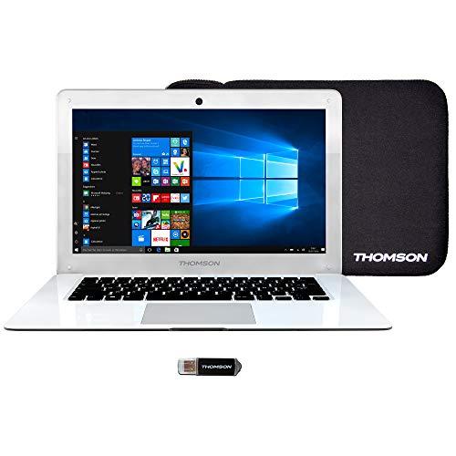 Thomson THN14B - Ordinateur Portable 14, 1' Blanc -...