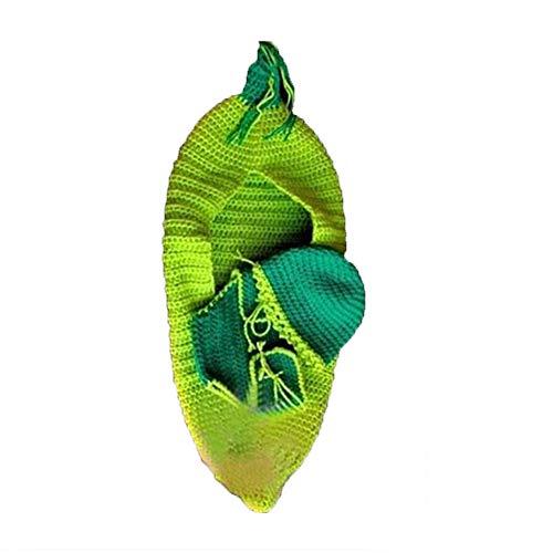 Kostüm Baby Im Autositz - Fliyeong Handgemachte Häkelarbeit Stricken Baby Swaddle Decke Schlafsäcke Fotografie Requisiten Outfits Kostüm für Neugeborene
