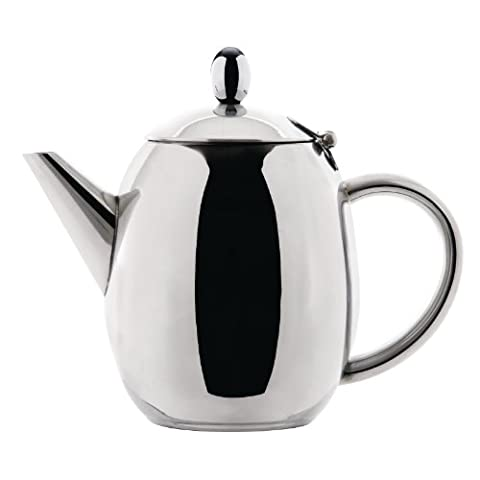 Olympia Richmond Teapot Stainless Steel 18oz Infuser