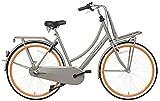 28pollici popal Daily Dutch Basic + 2800olandese da donna bicicletta 3Gang, grigio-arancione