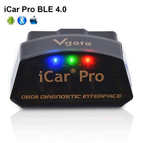 vgate iCar Pro Bluetooth 4.0 (BLE) OBDII Diagnose OBD2 KFZ Auto Interface Fehler Code-Leser Auto Check Engine Licht mit ELM327 Adapter