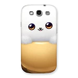 Cutest Fluffy Kitty Back Case Cover for Galaxy S3 Neo