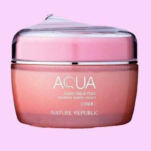 Nature Republic Super Aqua Max Moisture Watery Cream_80ml_for dry skin type by Korean Beauty