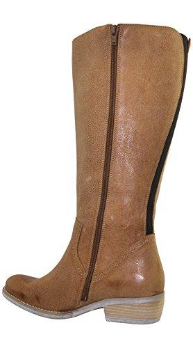 JJ Footwear, Stivali donna Marrone (Kamel Wash Pampa)