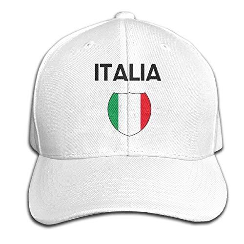 Osmykqe Italia Unisex Sommer Sonnenhut einstellbar lässig Golf Tennis Caps