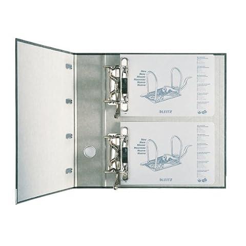 Leitz 10920000 Classeur Double Levier pour 2 x A5 Orientation Paysage - Noir