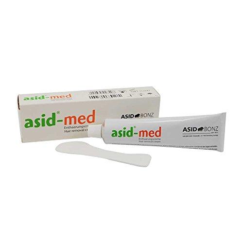 Enthaarungscreme asid-med von ASID BONZ, Haarentfernung, Enthaarung,unisex, parfümfrei, 75 ml