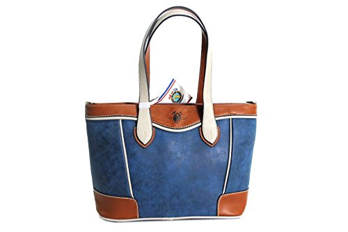 Borsa donna Harvey Miller l.tele mod.shopping a spalla 023 blu