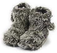 Home Slipper Women's Soft Plush Warm Indoor House Slipper Boots S