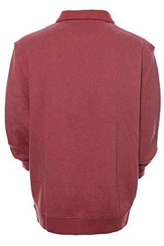 Kitaro Herren Pullover Sweatshirt BASIC Rot