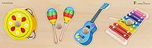 Doron Layeled e72515520Gigante Peg Puzzle- Instrumentos Musicales
