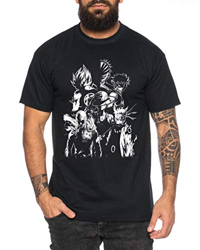 Heroes One Manga Camiseta de Hombre Anime Piece,...