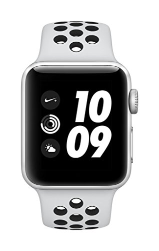 Apple Watch Nike+ GPS 38mm Smart Watch (Silver Aluminum Case, Pure Platinum/Black...