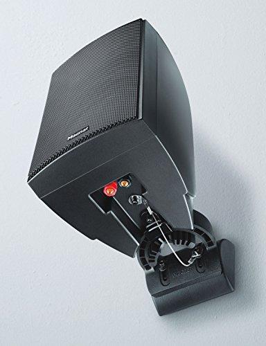 Magnat Symbol Pro 130 I Multifunktionale Musikbox mit Bassreflexgehäuse I 1 Paar 2-Wege-Lautsprecher für Regal- und Wandmontage – Schwarz