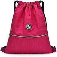 School PE Bag Sports Bag Rucksack Swimming Mesh Equipment Bag Gym Bag  Travel Backpack Lightweight Water 942f54cee95e2