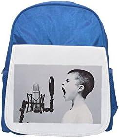 Microphone, Boy, Studio, Screaming printed kid's kid's kid's Bleu  backpack, Cute backpacks, cute small backpacks, cute Noir  backpack, cool Noir  backpack, fashion backpacks, large fashion backpacks, Noir  fashio | Techniques Modernes  0f4495