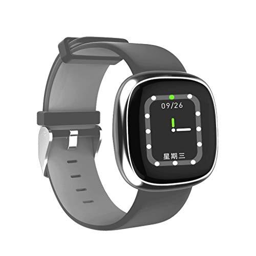 TianranRT P2 Smart Watch Bluetooth Herz Frequenz Blut Druck Sport Schritt Watch (E)