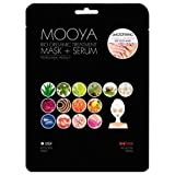 MOOYA - Maschera + Siero Trattamento Bifasico Per i Piedi - Calzini Anti Gonfiore Nutrienti - Non Testato Sugli Animali - Home Spa