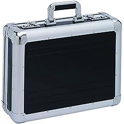 Aktenkoffer Attaché Koffer Alu Aluminium Schwarz Mit Zahlenschloss XL