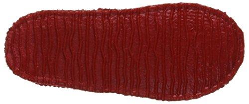 Giesswein Mädchen Aitrang Flache Hausschuhe Rot (rot-311)